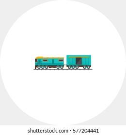 Freight Train Car Icon