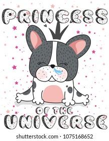 French bulldog,princess of the universe,
