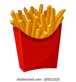 French Fries Clipart Images, Stock Photos & Vectors | Shutterstock