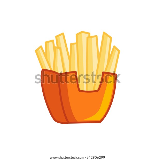 french fries icon illustration isolated vector sign symbol