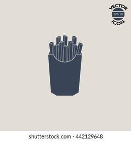 French fries potato image