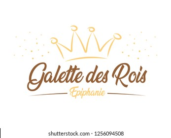 French King Cake - Epiphany « Galette des Roi » means « French King Cake » and « Epiphanie » means « Epiphany »