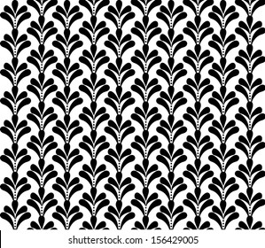 french ornament seamless pattern