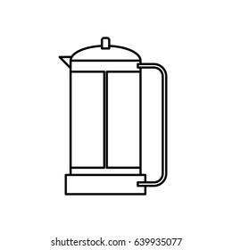 French Press Coffee Maker icon