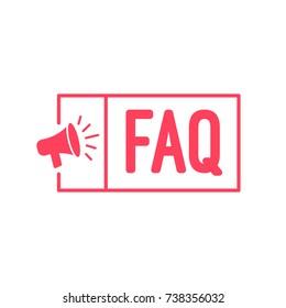 Häufig gestellte Fragen FAQ Megaphone-Label