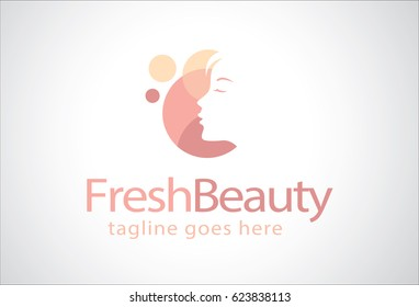 Fresh Beauty Logo Template Design