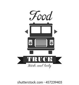 Fresh Food Truck Label Design
