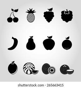 fresh fruit design, vector illustration eps10 graphic