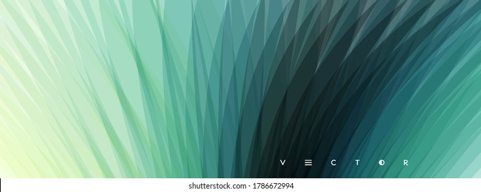 Fresh grass. Herbal growth overlay. Abstract background with dynamic effect. Mobile screen. Ecological vector illustration.