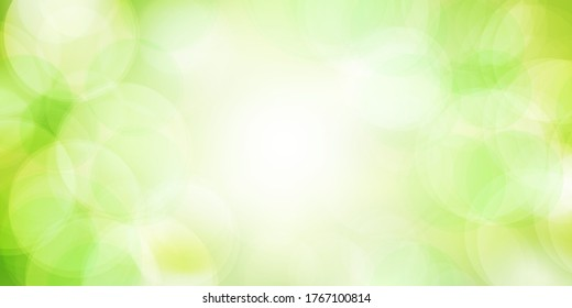 Fresh green light sky background