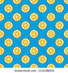Fresh lemons background.  Colorful wallpaper vector. Seamless pattern with citrus fruits collection. Decorative illustration, good for printing