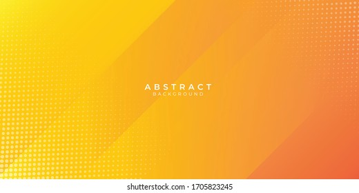 Fresh orange abstract background geometry shine and layer element vector for presentation design. Vector illustration for business, corporate, institution, party, festive, seminar, and talks
