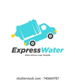 Fresh Water Car Delivery Logo