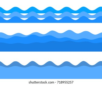 Freshness natural theme, a Fresh Water background of blue. Elements design. Abstract wavy for overlaying background of page under meshedge of title front label spa products. Vector illustration eps 10