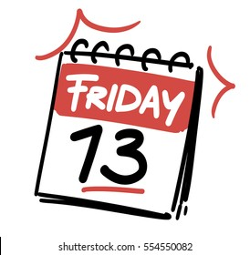Friday the 13th. Calendar date
