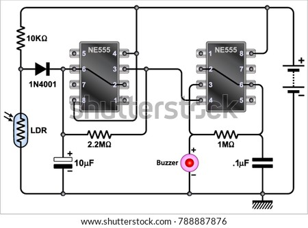 refrigerator wiring diagram for alarm with electrical schematic Wiring Diagram for Water Heater