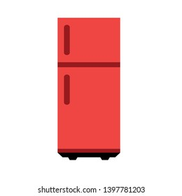 Fridge, freezer vector icon. filled flat sign for mobile concept and web design. Two door refrigerator glyph icon. Symbol, logo illustration. Pixel perfect vector graphics