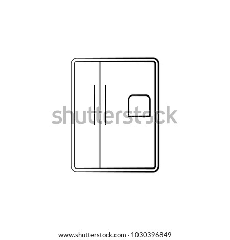 Fridge Icon Element Electrical Devices Icon Stock Vector (Royalty