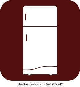 fridge refrigerator household goods icon