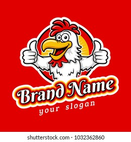 Cool Contoh Gambar Banner Fried Chicken
