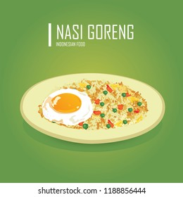 Fried rice with Indonesian beef eye meal