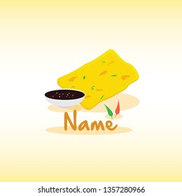 Fried Snack Logo Gorengan