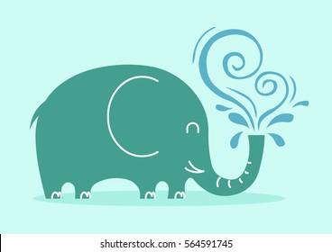 Friendly elephant