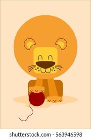 Friendly lion