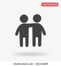 Friends icon illustration isolated vector sign symbol
