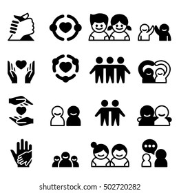 Friendship & Friend icons