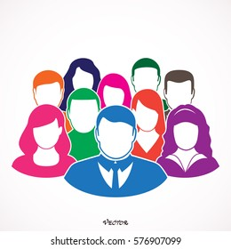 Friendship icon. People  Icon Isolated Background.