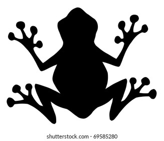 frog silhouette images stock photos vectors shutterstock rh shutterstock com frog silhouette clip art - bing images frog silhouette clip art - bing images