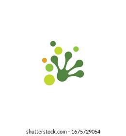 Frog Logo Template vector illustration design