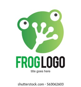 FROG TOAD LOGO ICON SYMBOL TEMPLATE EMBLEM
