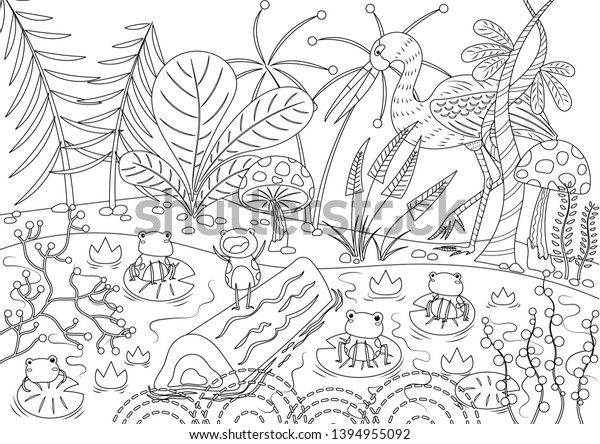 Fables Coloring Page - GetColoringPages.com | 444x600