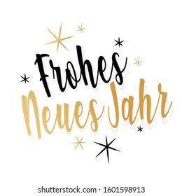Frohes neues Jahr : Happy new year in german language