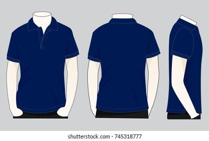 Imágenes Fotos De Stock Y Vectores Sobre Blue Polo Shirt