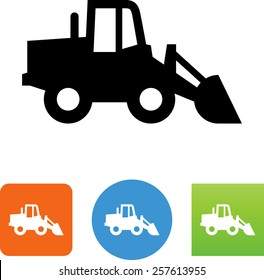 Front loader icon