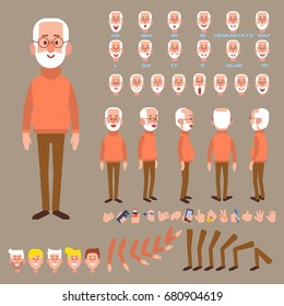 Characters Set Animation Stock Illustrations Images Vectors