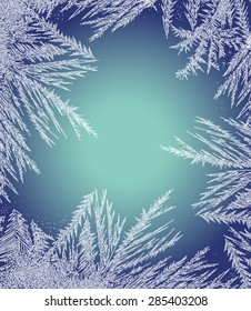 Frosty Pattern Frame.