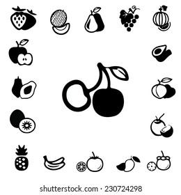 Fruit design icon