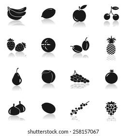 Fruit Icons- Illustration