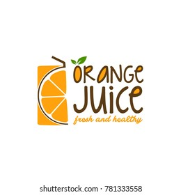 Fruit Juice Logo Vector