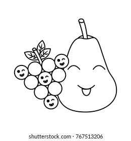 fruit kawaii icon image