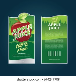 fruit label Template