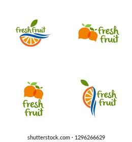 Fruit Logos Template