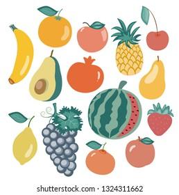 Fruits Et Legumes Dessin Stock Vectors Images Vector Art
