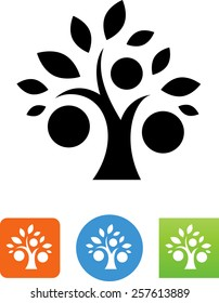 Fruit tree icon