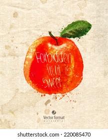 Fruit. Vector format