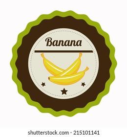 Fruits design over white background, vector illustration